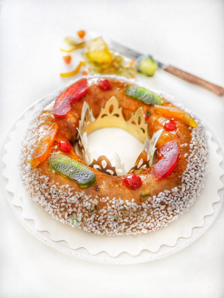recette brioche des rois fruits confits
