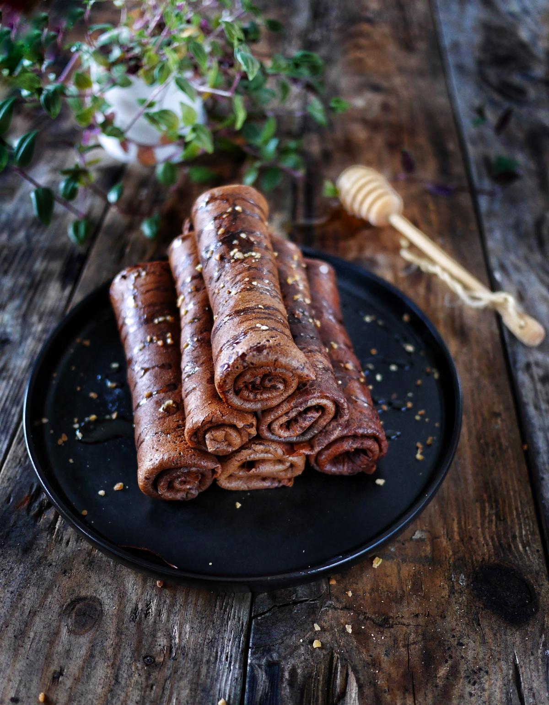 recette de crêpes au chocolat