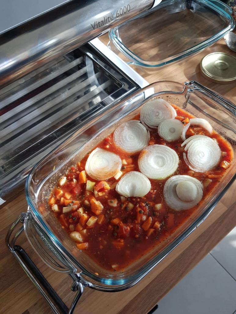 préparation du ragout pour cuisson basse température
