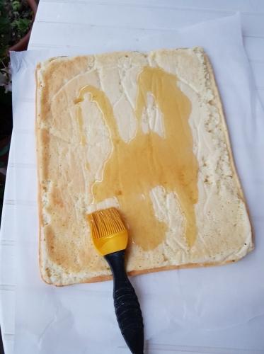 nappage au sirop du biscuit de la buche