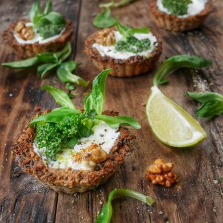 tartelette veggie au chou kale