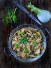 assiette de fenouils braisés