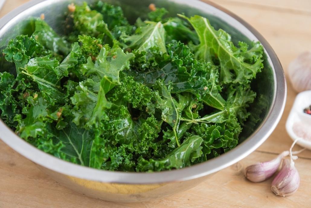 Cuisiner le chou kale