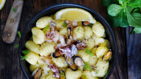 recette de sauce aux crustacés pour pâtes