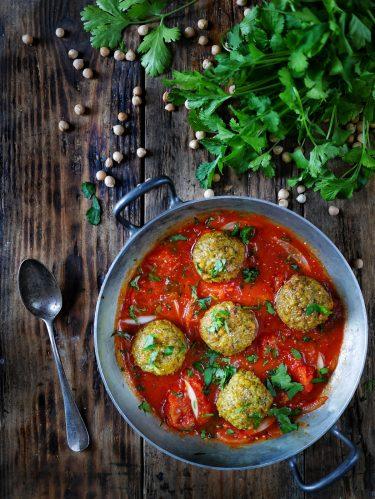 recette de falafels au four sauce tomate