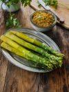 recette d'asperges sauce aux anchois