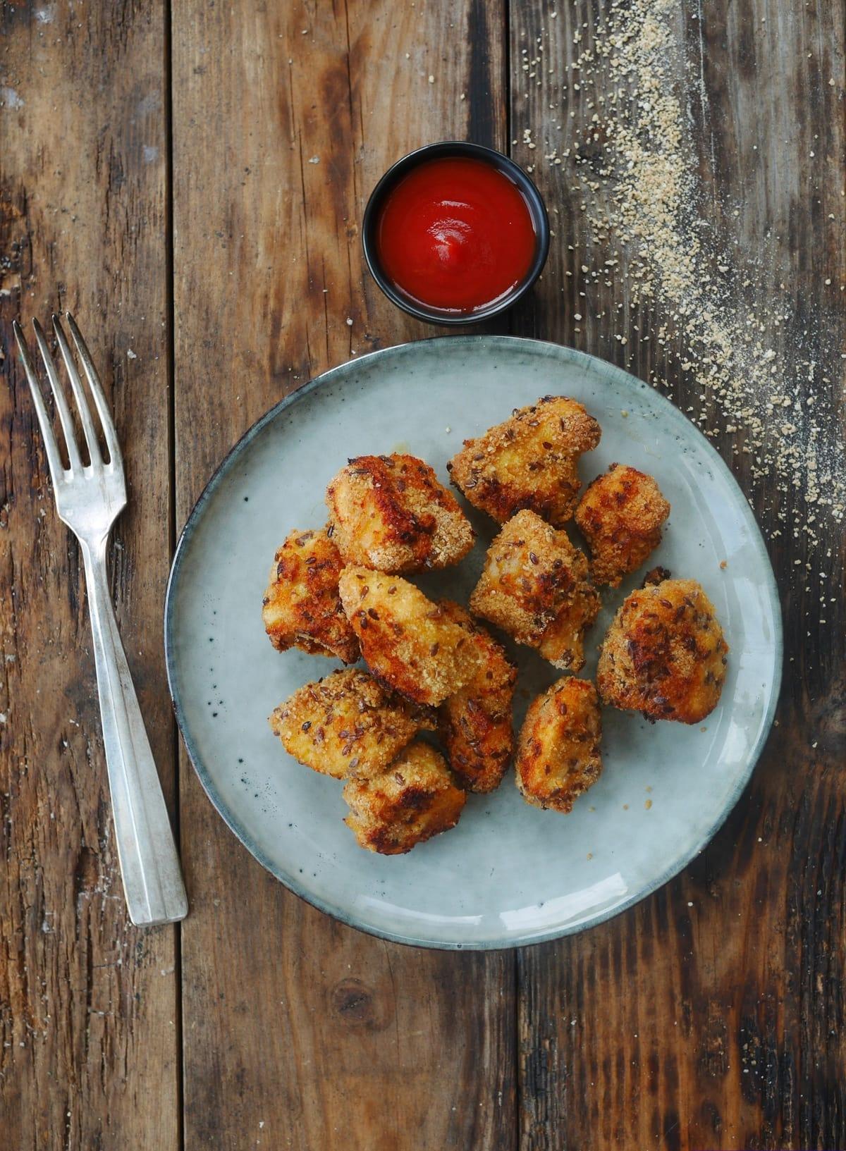nuggets de poulet fait maison sans friture