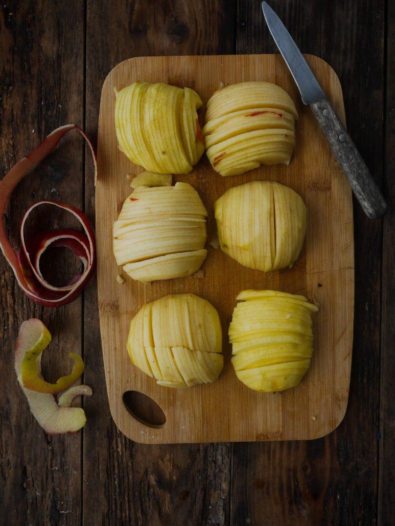 Joli cake aux pommes