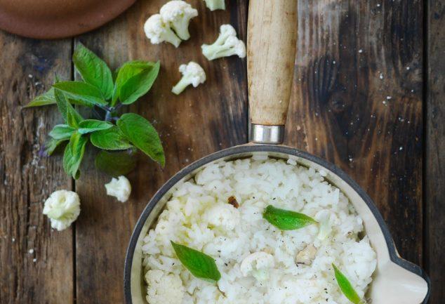 recette de risotto au chou fleur