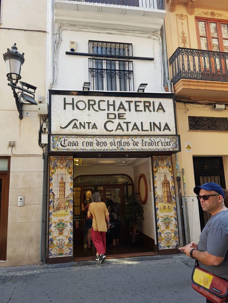 L'Horchataria Santa Catalina de Valence en Espagne