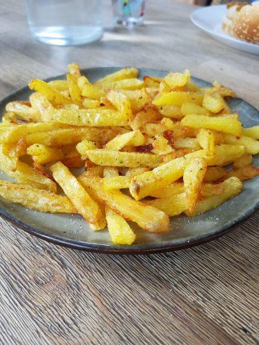 Recette de frites pas grasses