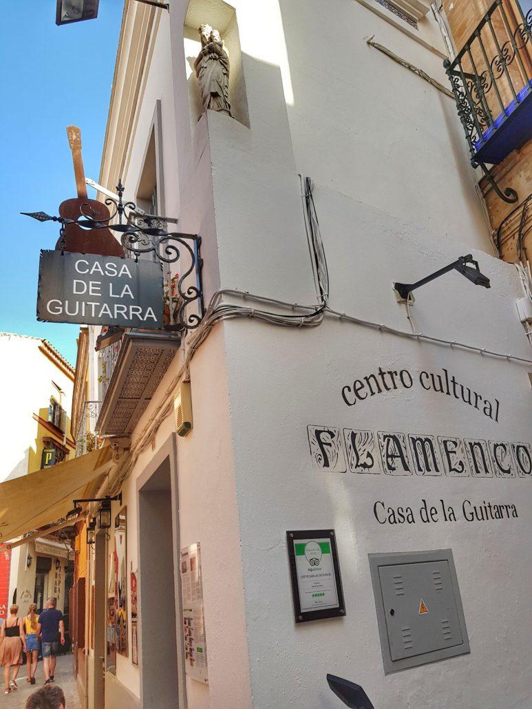 Casa de la guitarra à Séville