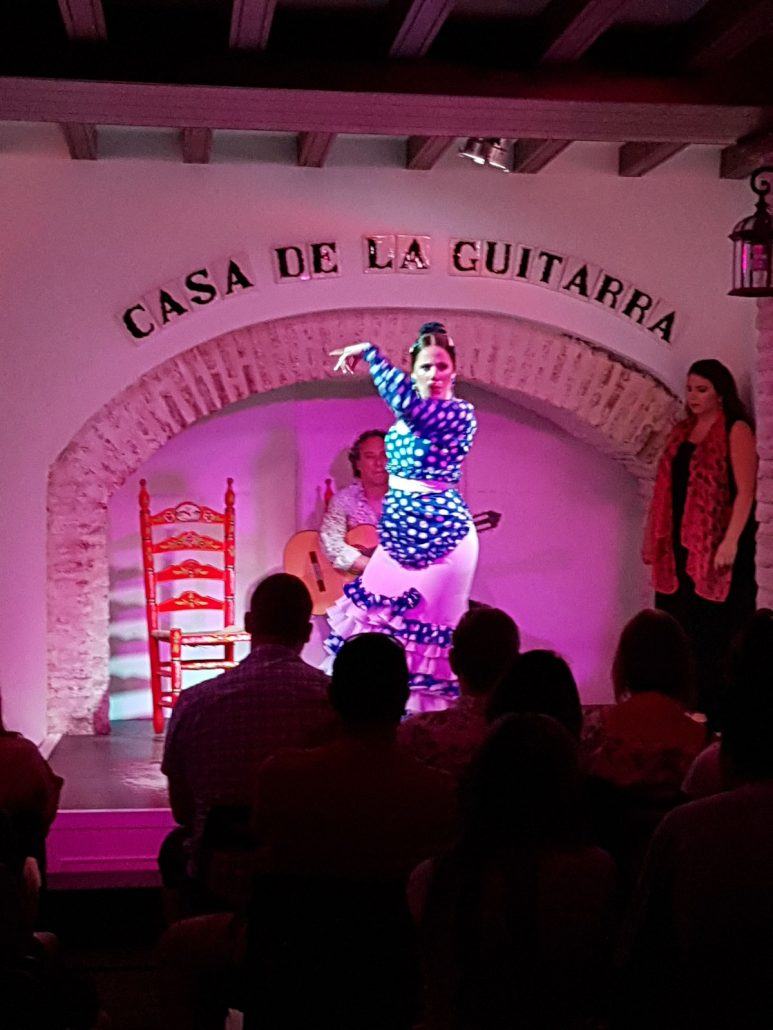 spectacle de flamenco à séville