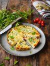 frittata de courgettes et tomates