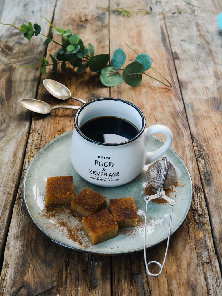 Gâteau de semoule vegan : le Halva grec