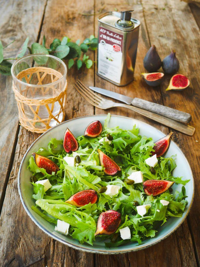Salade à la figue