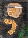 Tranches d'oranges séchées