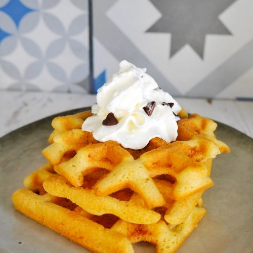gaufre 4/4 à la chantilly