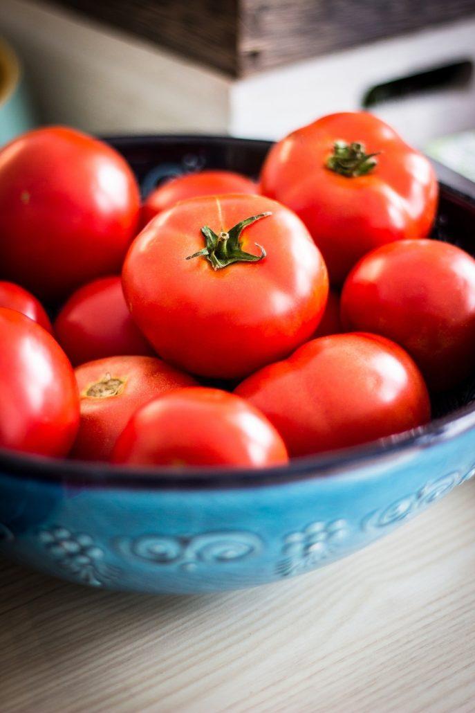 plat de tomates