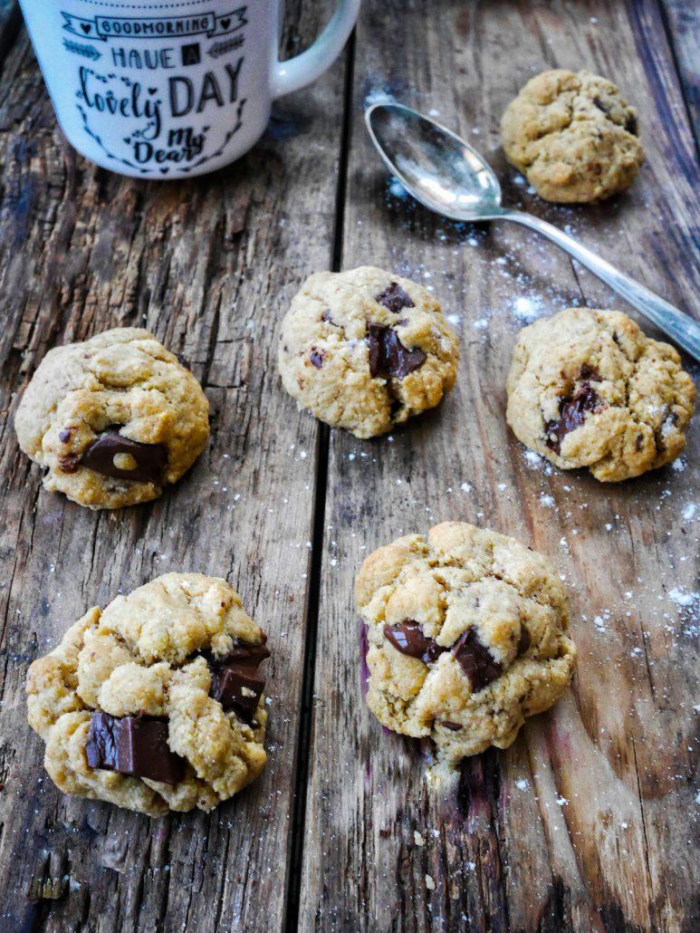 Cookies ultra fondant au chocolat et purée d'amande