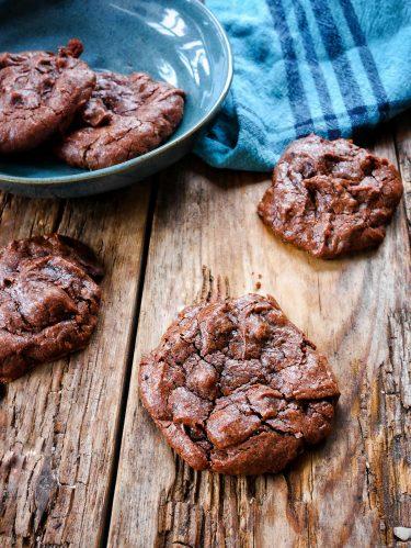 ookies brownies chocolat noir