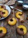 gâteaux donuts marbrés vanille choco