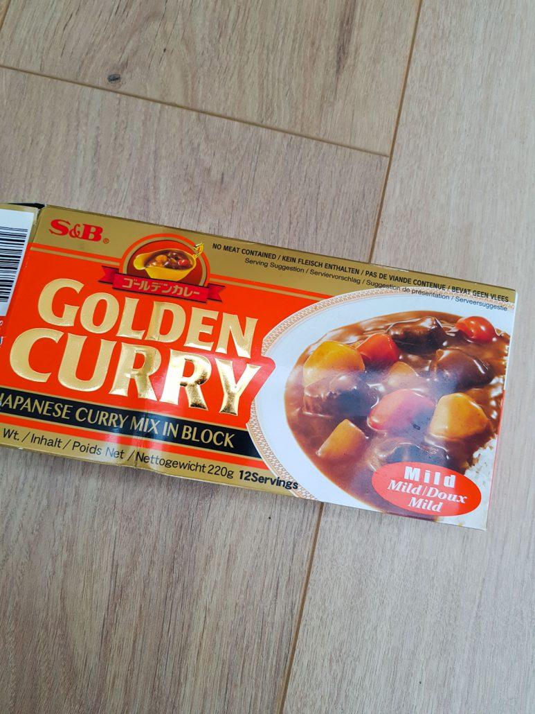 Curry japonais poulet champignons noirs