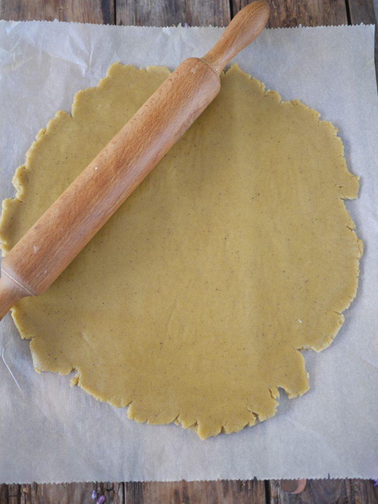 Pâte sablée pistache