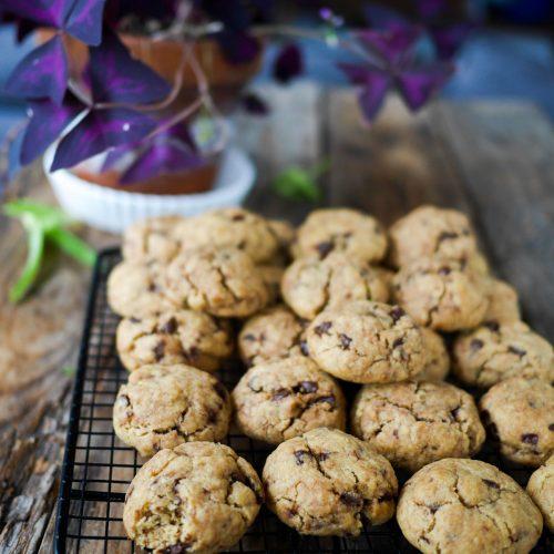 Cookies aux pépites de chocolat au beurre de cacahuète