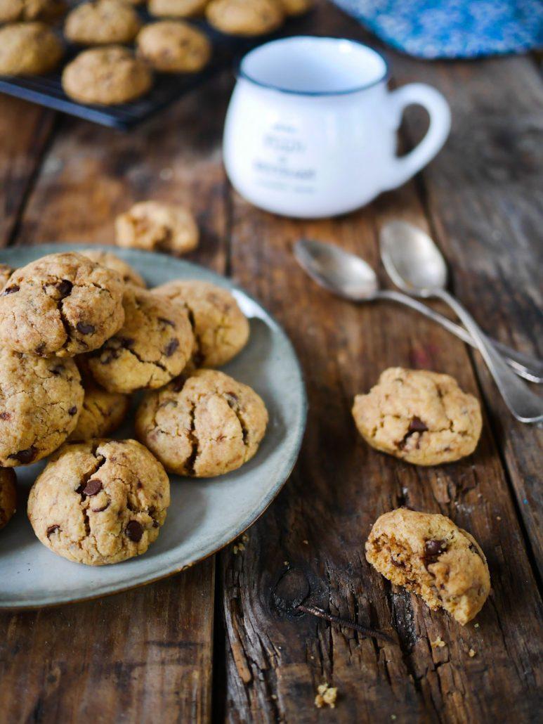 Cookies beurre de cacahuètes et pépites de chocolat