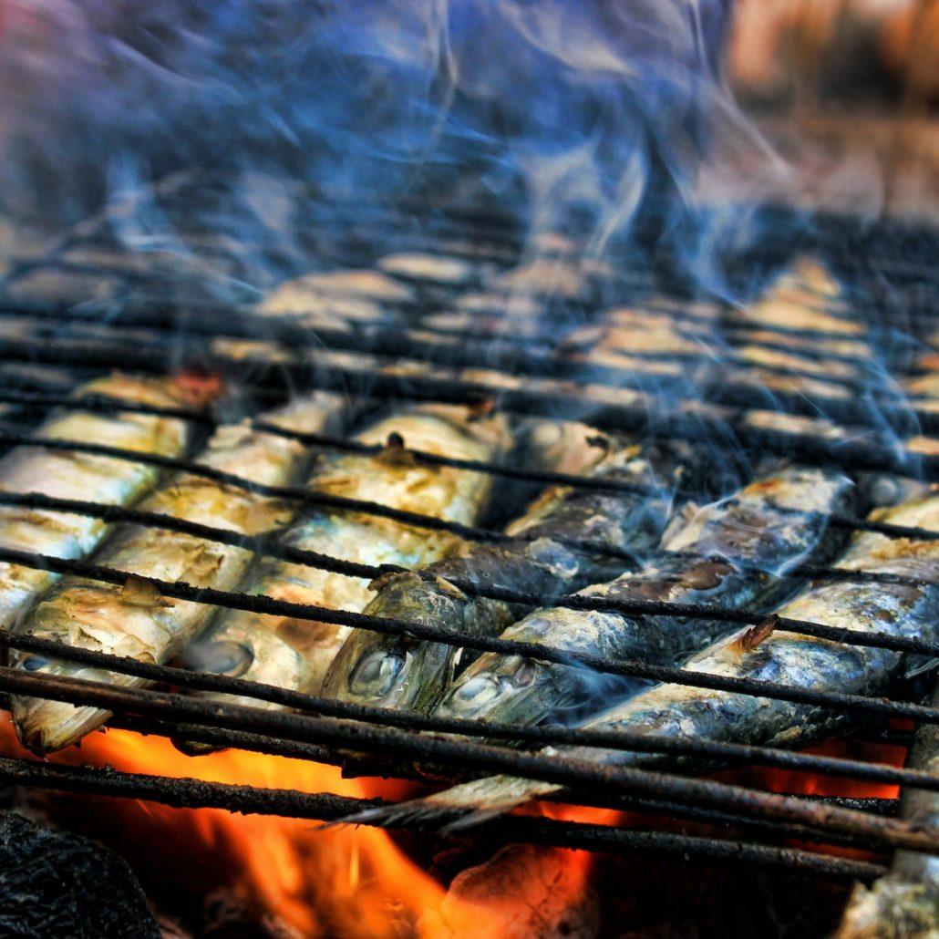 sardines cuites au barbecue