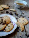 cookies à la margarine et pépites de chocolat