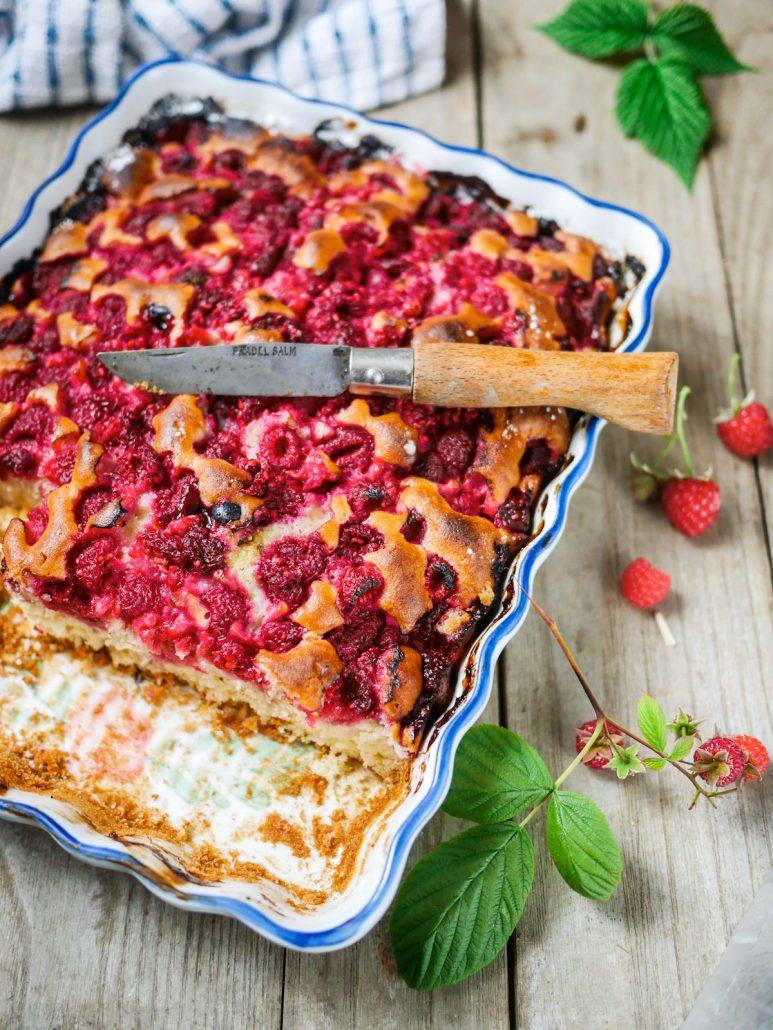 gâteau fondant framboises : la recette du gâteau viennois