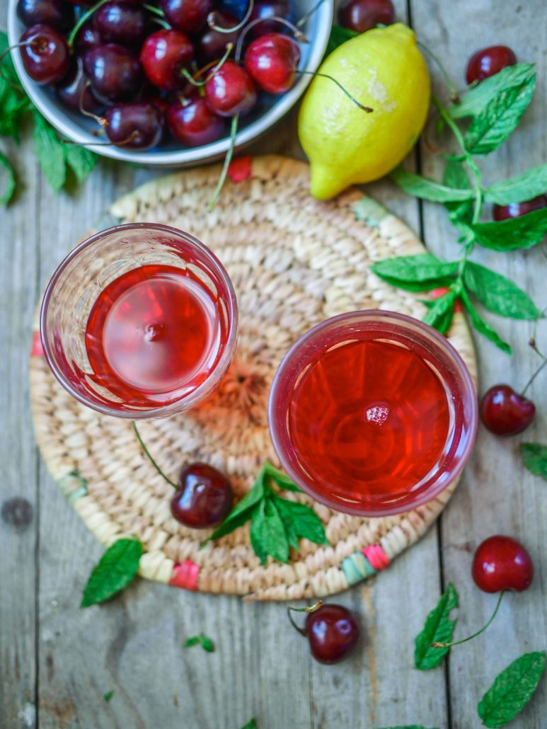 limonade à la cerise