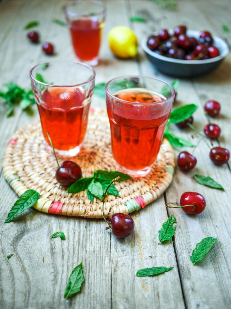 limonade de cerises