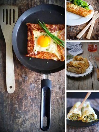 idées recettes crêpes salées