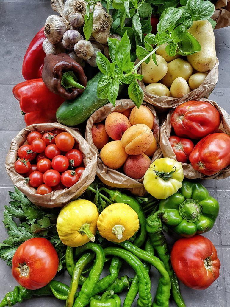 légumes de marché de Brive la gaillarde