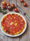 tatin tomates polenta
