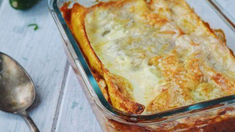 lasagnes courgettes thon