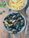 Moules sauce au curry