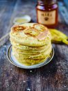 pancakes bananes tranchées