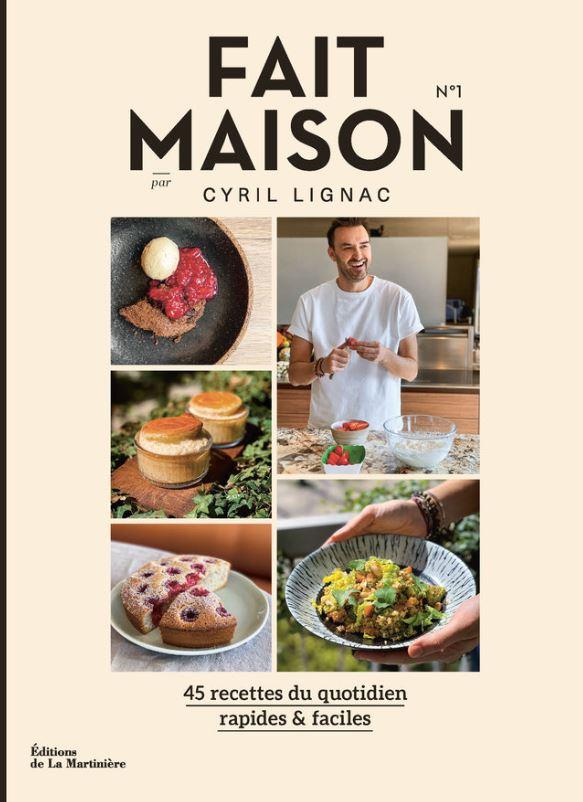 Livre de cuisine Cyril Lignac