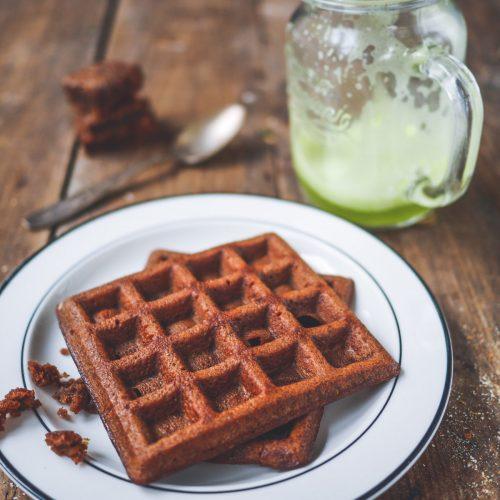 gaufres brownies chocolat