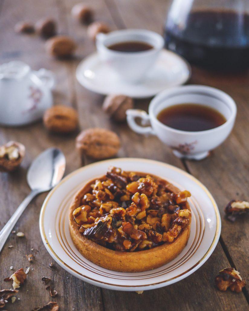 tarte noix caramel