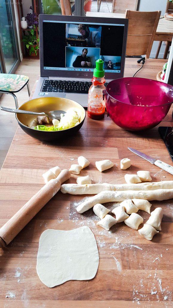 pâte à dumpling