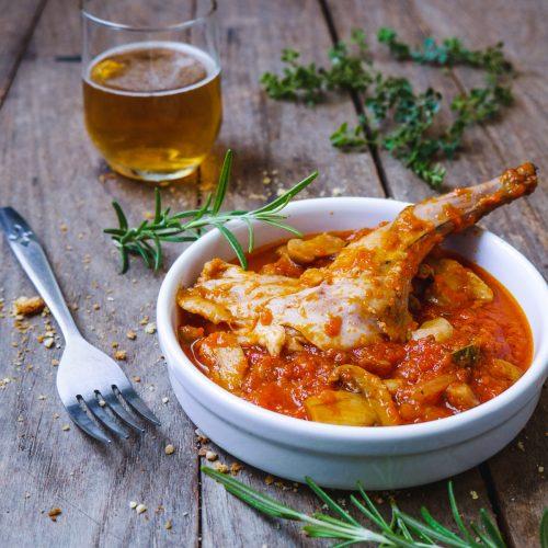 lapin sauce tomate