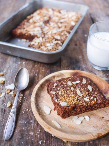 brownie amandes