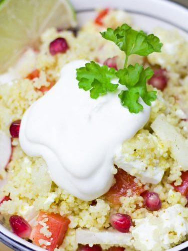 semoule en salade