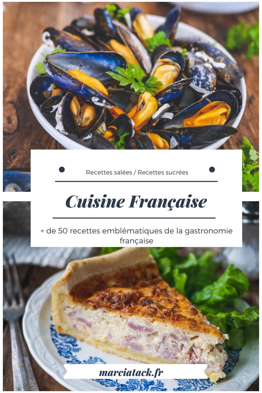 Découvrez les plats typiques de la cuisine française.