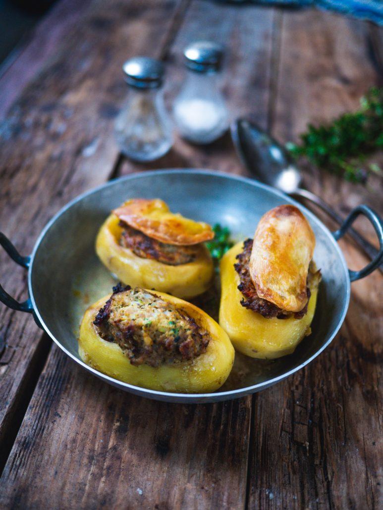 pommes de terre farcies viande